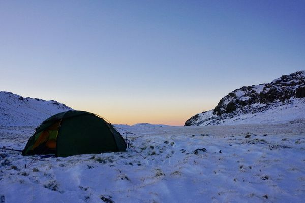 Backpacking and Wild Camping Tips For the Winter Months